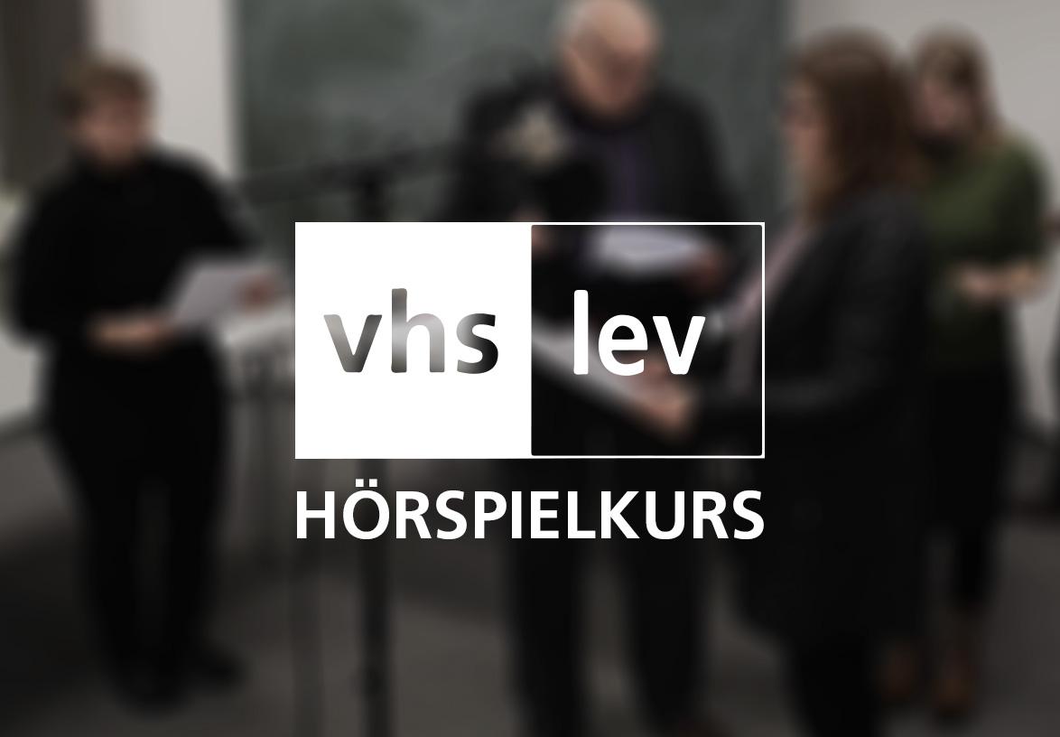 VHS Leverkusen, Volkshochschule, Hörspielkurs