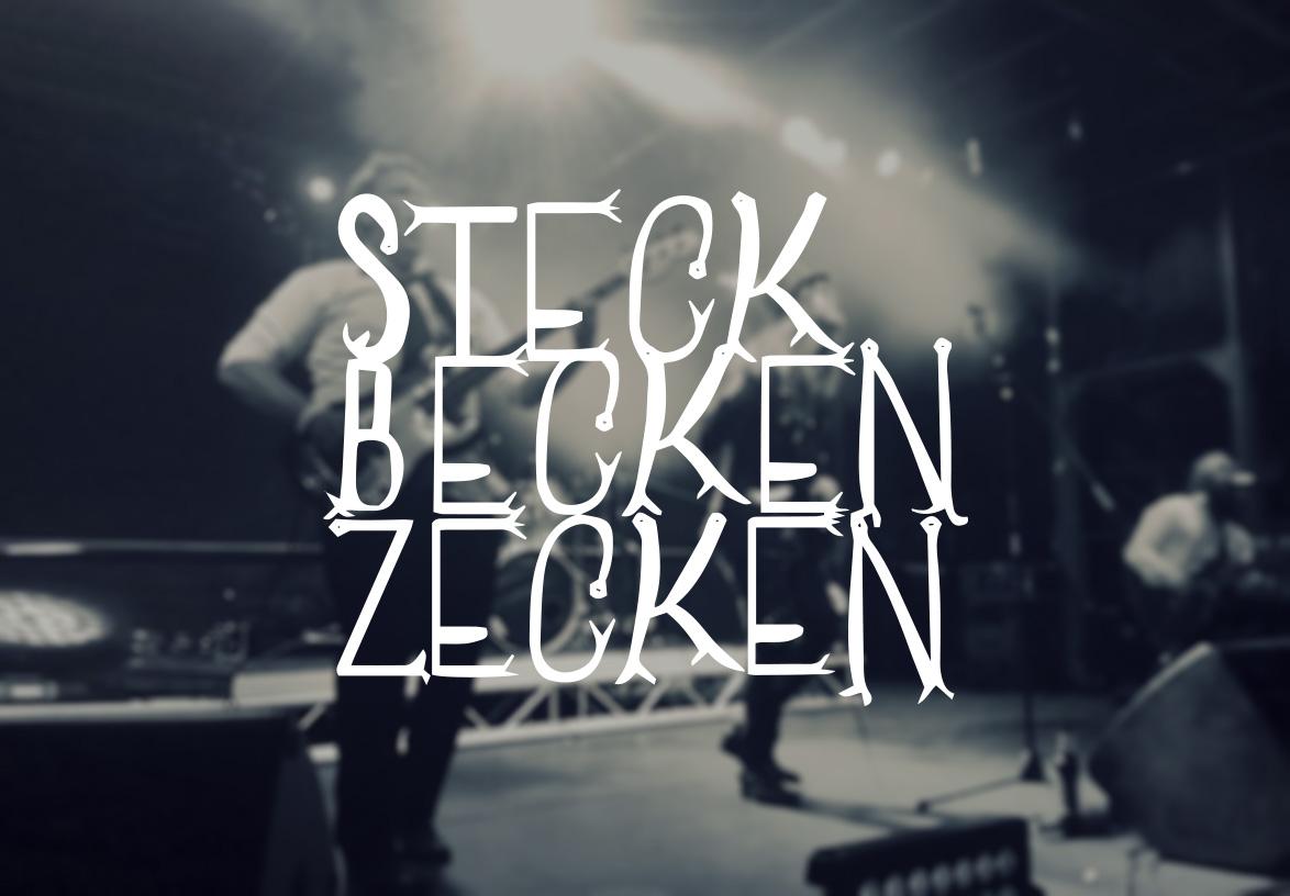 Band Steckbeckenzecken